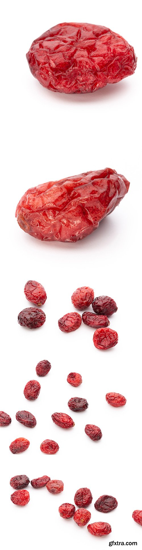 Dried Cranberries Isolated - 5xJPGs