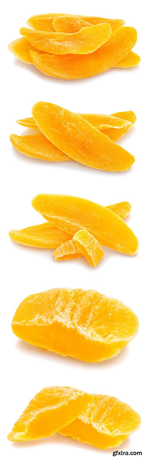 Dried Mango Isolated - 7xJPGs