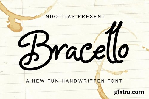 Bracello - A Fun Handwritten