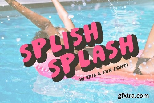 CM - Splish Splash! Playful Sans Serif 3796592