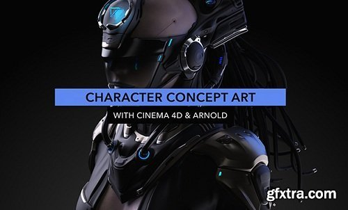 Elementza - Character Concept Art With Cinema 4D and Arnold