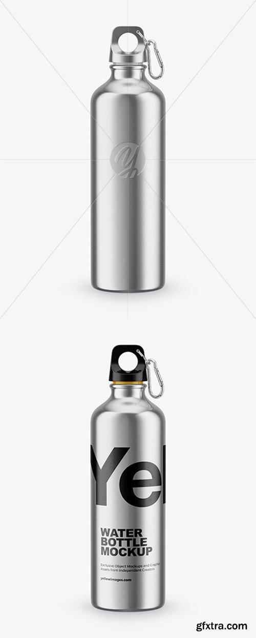 Steel Water Bottle Mockup 43023