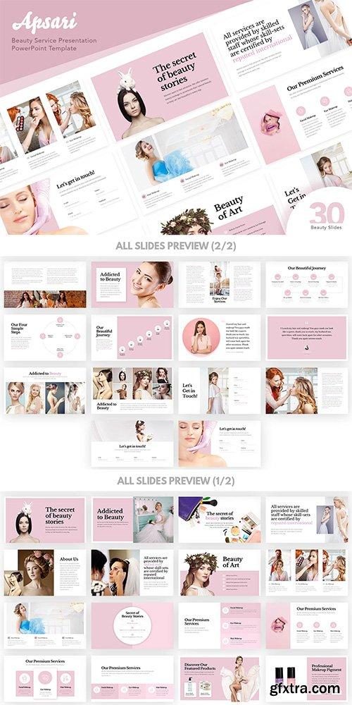 Apsari - Beauty Services Presentation PowerPoint