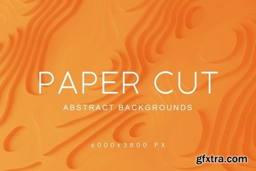 Paper Cut Abstract Backgrounds