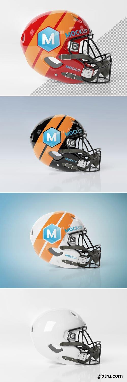 Isolated American Football Helmet Mockup 267840107