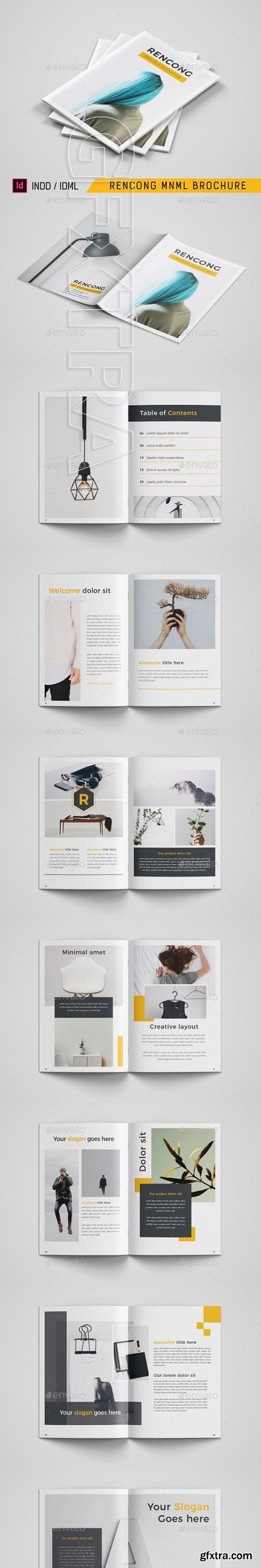GraphicRiver - Rencong Mnml Brochure 23800903