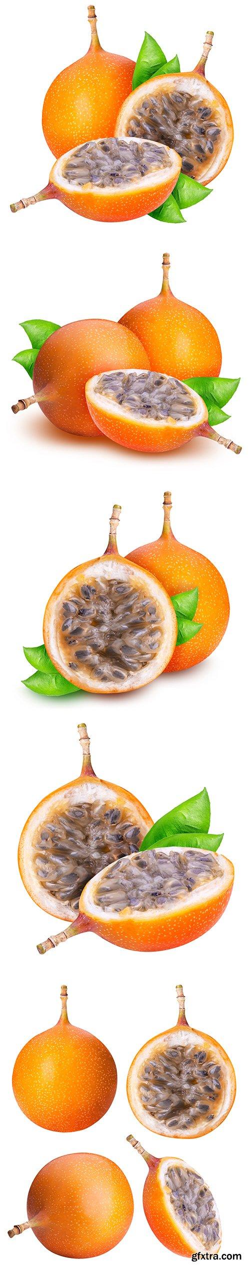 Granadilla Fruit Isolated - 6xJPGs