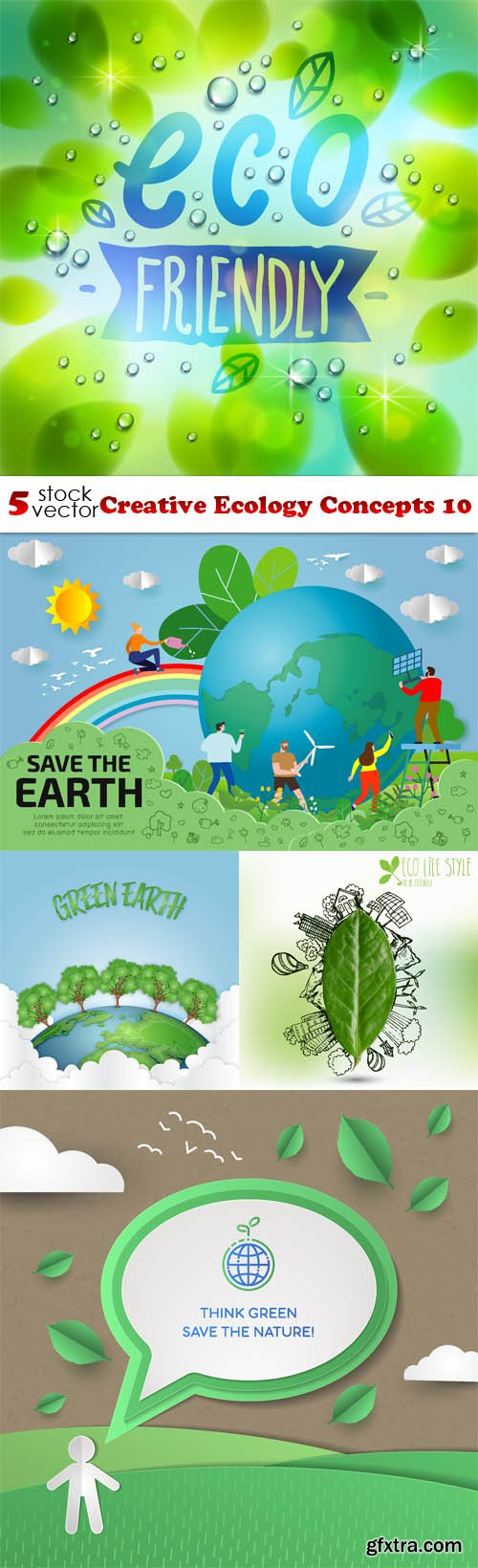 Vectors - Creative Ecology Concepts 10