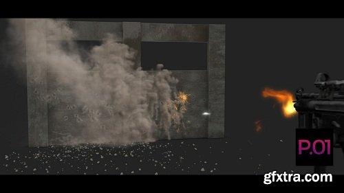Fire Bullets on Wall