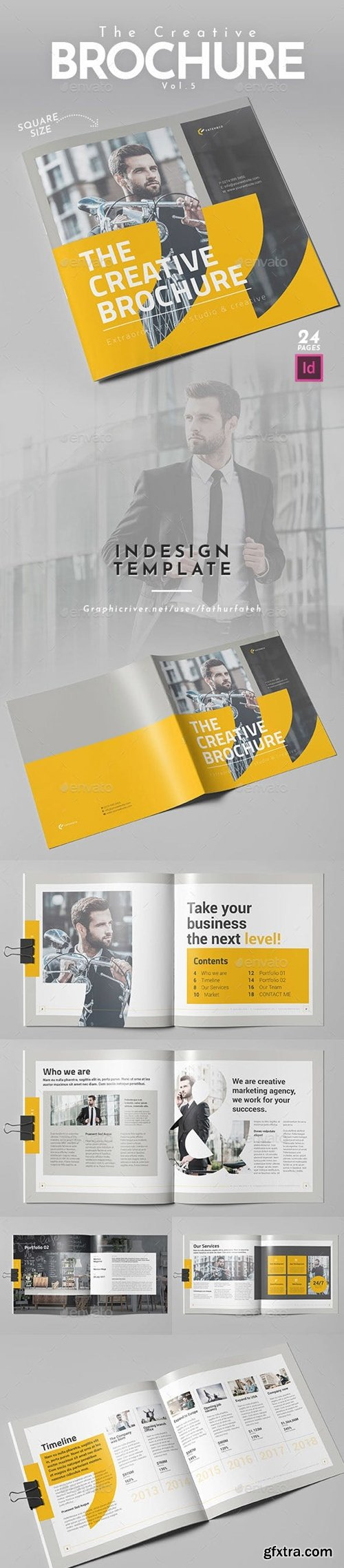 Graphicriver - The Creative Brochure Vol.5 - Square 23430984