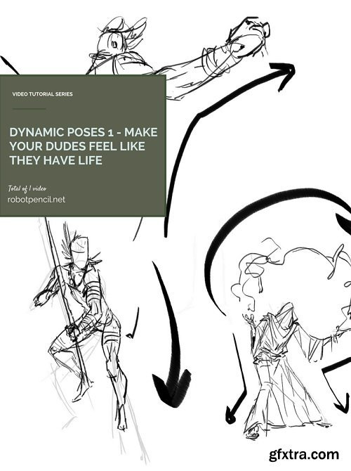 Gumroad – Dynamic Poses 1 – Make your dudes feel like they have life!