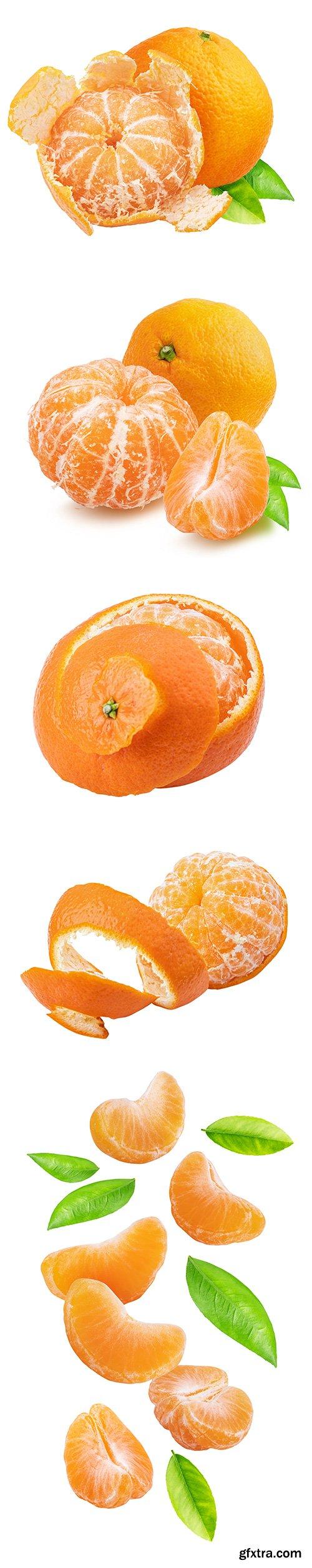 Mandarin Isolated - 12xJPGs