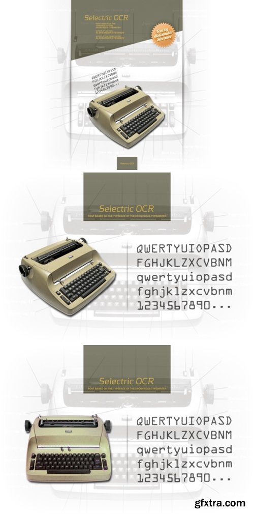 Selectric OCR Font