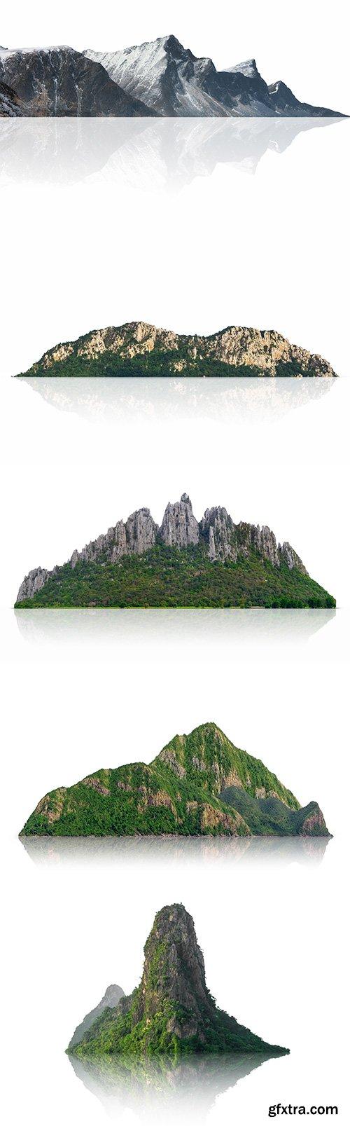 Mountain Isolated - 8xJPGs