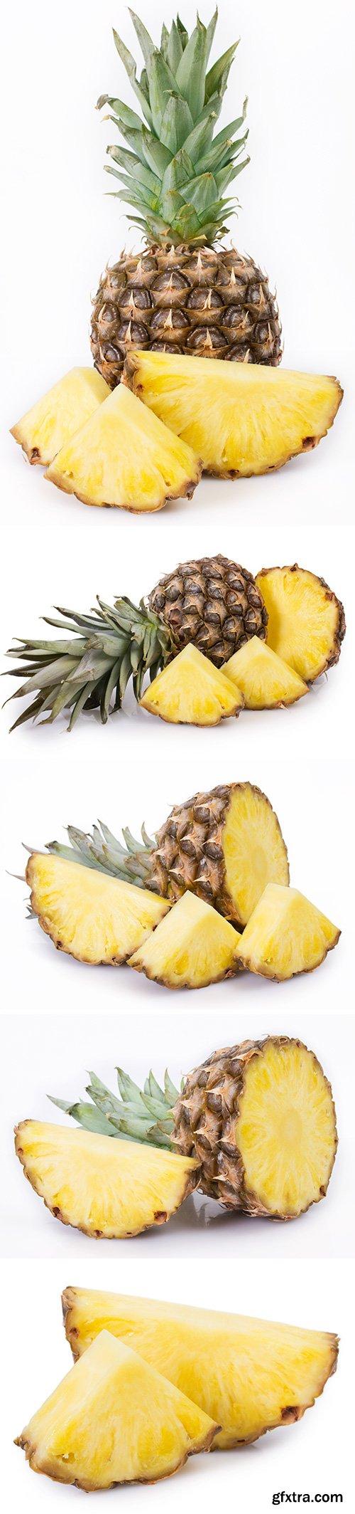 Pineapple Isolated - 10xJPGs