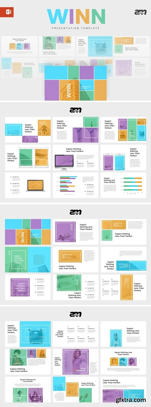 Winn Powerpoint, Keynote and Google Slides Templates