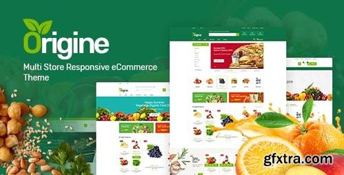 ThemeForest - Origine v1.0 - Organic Opencart Theme - 23834140