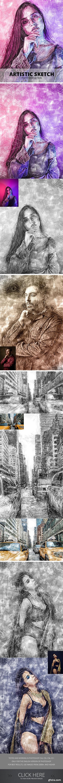 GraphicRiver - Artistic Sketch Photoshop Action 23796175