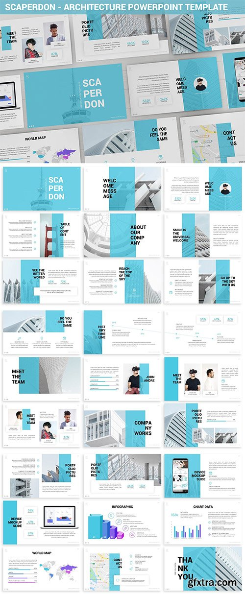 Scaperdon - Architecture Powerpoint Template