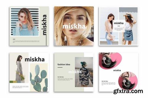 Mishka - Instagram Posts Template