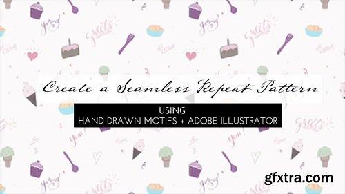 Create a Seamless Repeat Pattern Using Hand Drawn Motifs + Adobe Illustrator