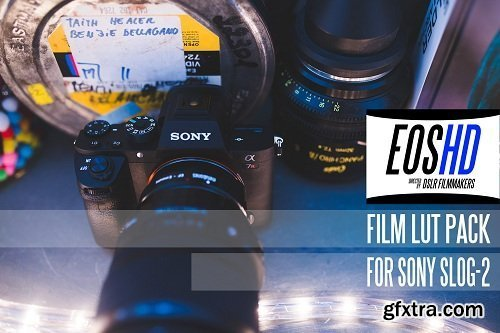 EOSHD Film LUT Pack (Win/macOS)