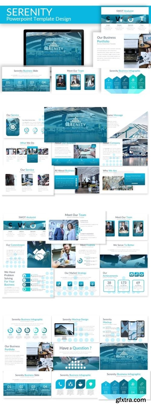 Serenity - Powerpoint Template 1422849
