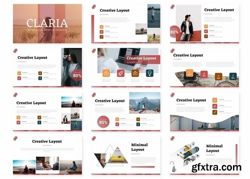 Claria - Powerpoint Google Slides and Keynote Templates