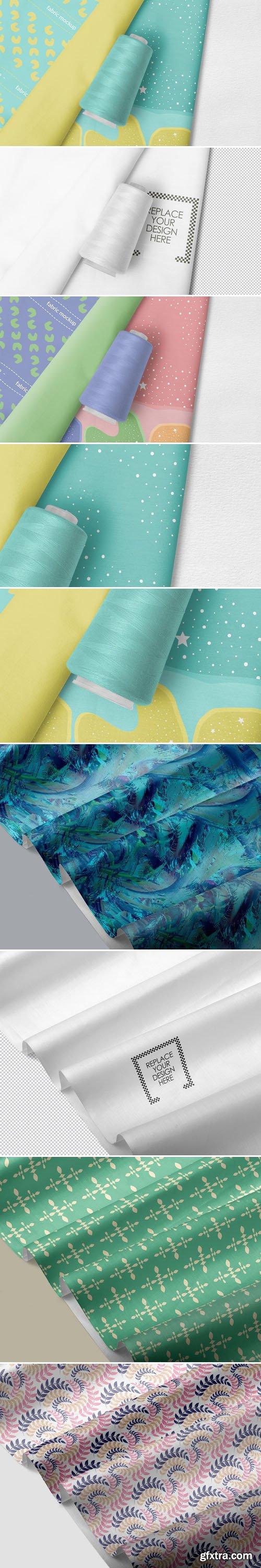 Photorealistic Fabric PSD Mockups