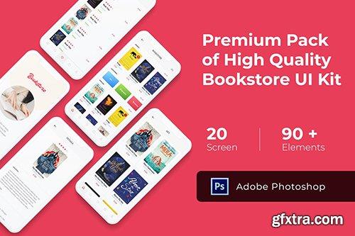Bookstore Mobile UI KIT