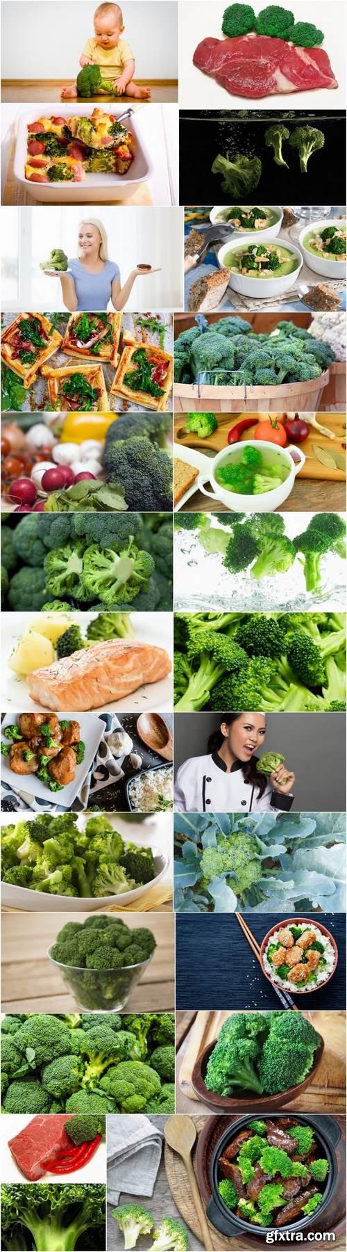 Broccoli cabbage food meal dish 25 HQ Jpeg