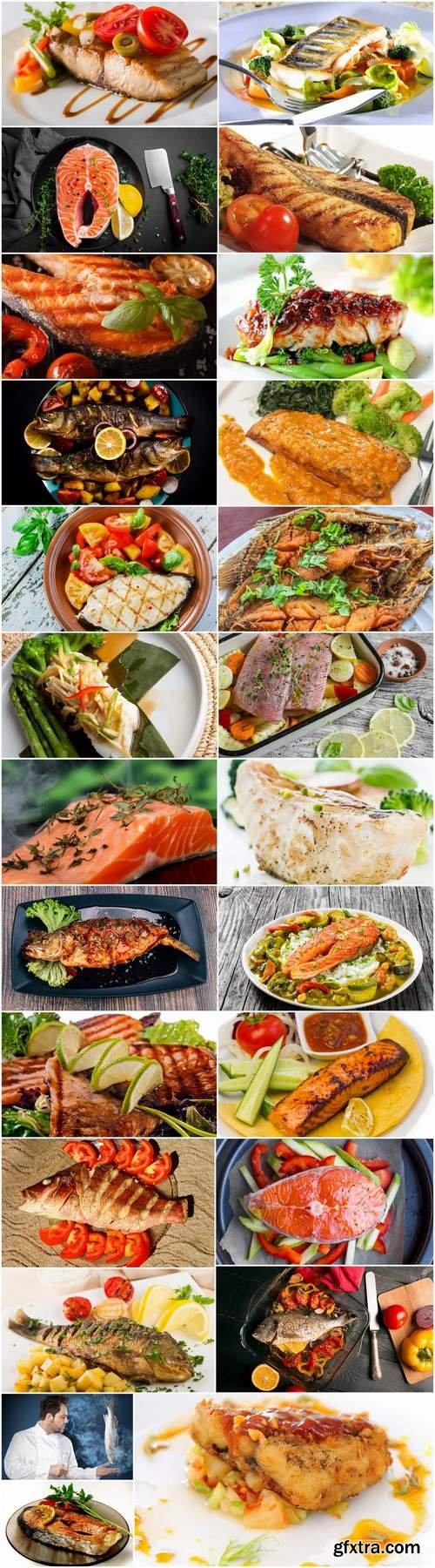 Steak grilled fish salmon tuna snapper 25 HQ Jpeg