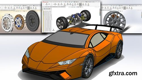SolidWorks 2019: Automobile System Design, Deep learning A-Z