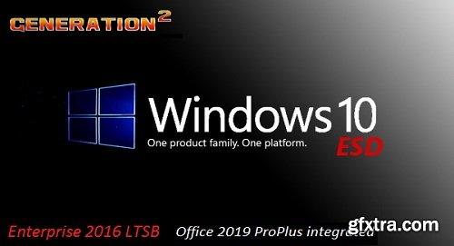 Windows 10 Enterprise 2016 LTSB x64 Incl Office 2019 x64 May 2019
