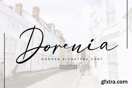 Dorenia Signature Font