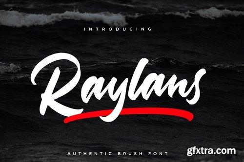 Raylans Brush Font