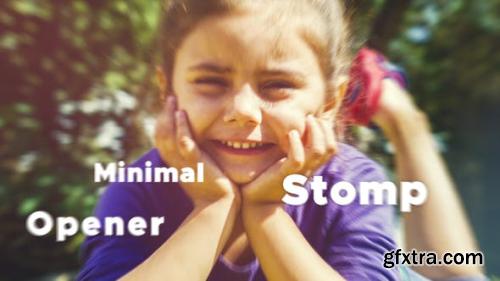 VideoHive Minimal Stomp Opener 23849499