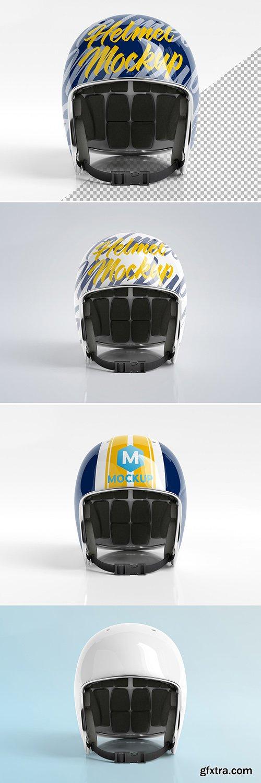 Isolated Motorcycle Helmet on White Mockup 269077070