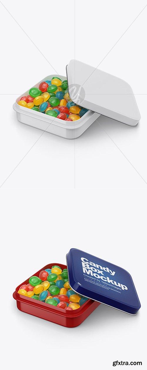 Glossy Candy Box Mockup 40866