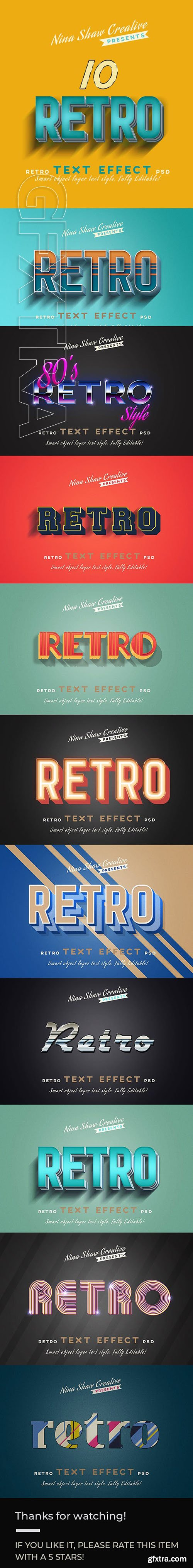 GraphicRiver - Retro Vintage Text Effects 23733346