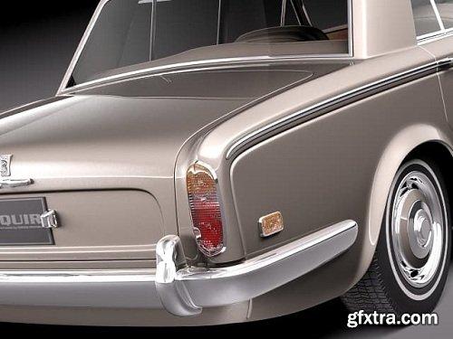 Rolls-Royce Silver Shadow 1965 1980 3D Model
