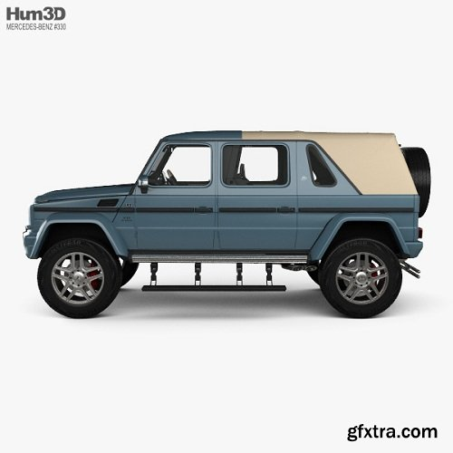 Mercedes-Benz G-class (W463) Maybach Landaulet with HQ interior 2017