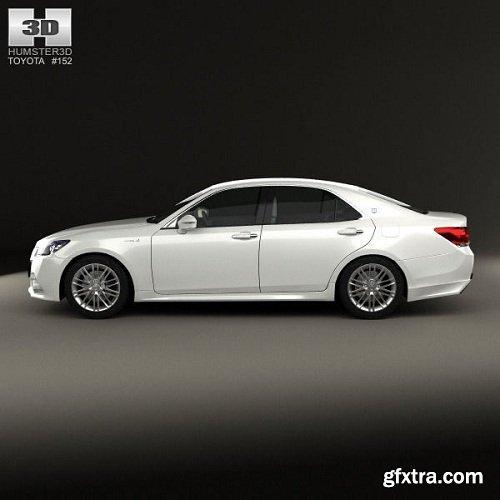 Toyota Crown Hybrid Athlete 2013