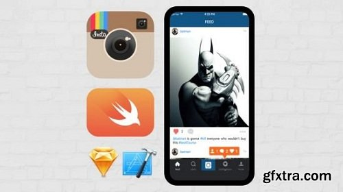 Create FULL INSTAGRAM Clone with Swift & Xcode. Be advance