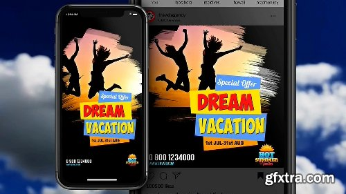 Videohive Instagram Stories Travel Agency 3 22392273