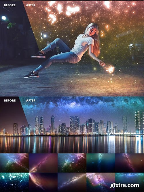 InkyDeals 1000+ Premium HD Overlays and Actions for Photoshop