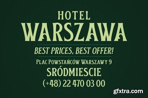 CM - Obsypac Vintage Serif 3789574