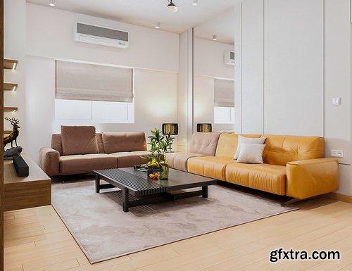 Cgtrader - Full House Design 5 3D model