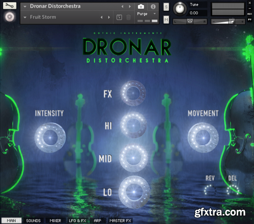 Gothic Instruments DRONAR Distorchestra KONTAKT-SYNTHiC4TE
