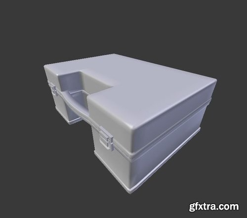 Cgtrader - First Aid Kit 1 Plus 1 PBR Pack Low-poly 3D model